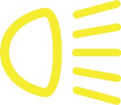 Alineación de luces